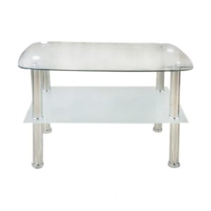 2 Layer Glass Coffee Table (450*650) @ Mayfair Home