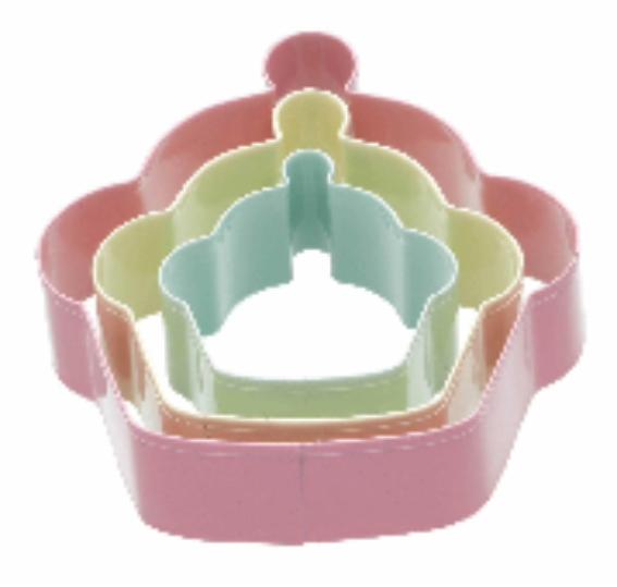 3pc Cup Cake Cookie Cutter @ Mayfair Home